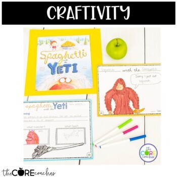 Spaghetti with the Yeti: Interactive Read-Aloud Lesson Plans and Activities
