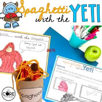 Spaghetti with the Yeti Read-Aloud Activity