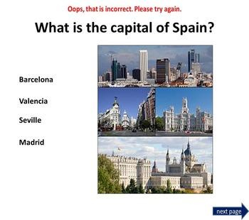 Spain Power Point Presentation Quiz