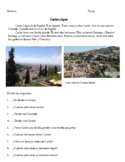 Spain: 3 pgs.-Easy Short Reading Passages and Comprehension Questions Spanish I