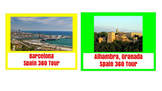 (Europe Geography) Spain: 360 Virtual Tours SET!