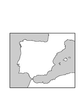 Spain Atlas Page, Fact Sheet