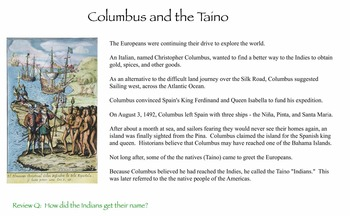 Spain Builds an Empire & the Voyages of Columbus