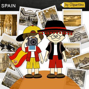 Spain Clipart-Top 11 Tourist Places