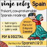 Spain Comprehensible Spanish Reading about España Viaje Veloz