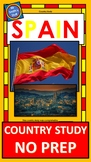 Spain - Country Study - Country Project