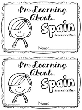 Spain Country Study Edition #2   48 Pages for Differentiated Learning + Bonuses