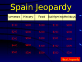 Spain Culture Jeopardy