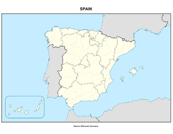 Spain Geography Quiz