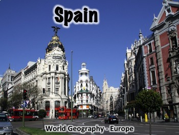 Spain Geography and History PowerPoint