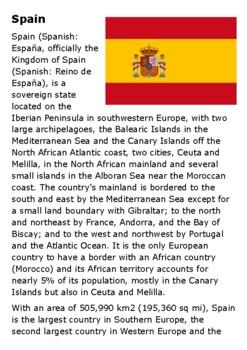 Spain Handout