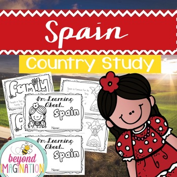 Spain Country Study | 48 Pages for Differentiated Learning + Bonus Pages