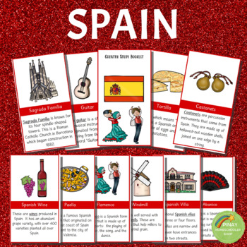 Spain Country Study Learning Pack