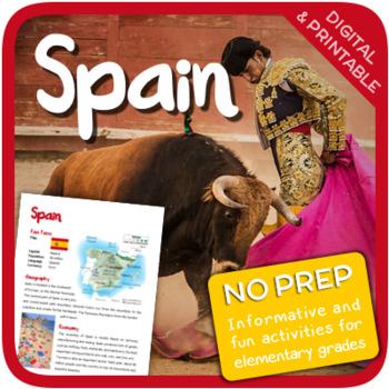 Spain (Fun stuff for elementary grades)