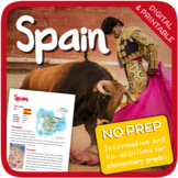 Spain (Fun stuff for elementary grades)