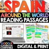 Spain Reading Passages Distance Learning Google Classroom