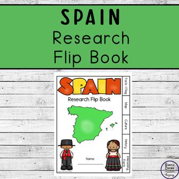 Spain Research Flip Book