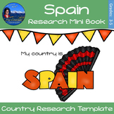 Spain - Research Mini Book