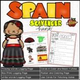 Spain Scavenger Hunt