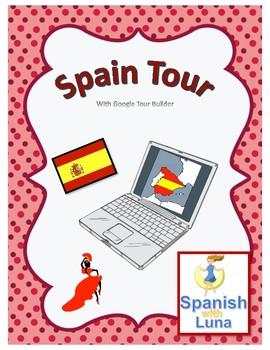 Spain Tour with Google Tour Builder / Lesson Plan + WebQuest