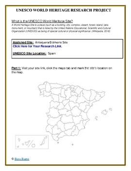 Spain UNESCO World Heritage Sites Project