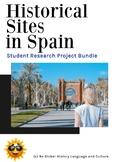 Spain UNESCO World Heritage Sites BUNDLE - Distance Learning