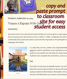 Spain Webquest Beginner Spanish Lesson : Spanish Culture Internet Web Quest