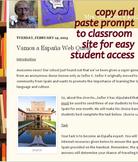 Spain Webquest Beginner Spanish Lesson : Spanish Culture Internet Web Quest