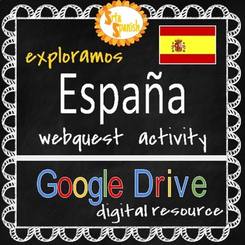 Spain Webquest: Online Interactive Activity