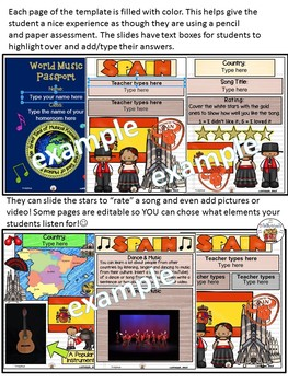 Spain World Music Digital Passport