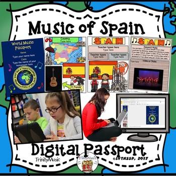 Spain World Music Digital Passport