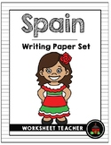 Spain Writing Paper Set
