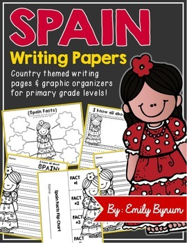 Spain Writing Papers (A Country Study!)