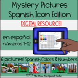 Digital Mystery Pictures Spain and Spanish Icons, Color By Number