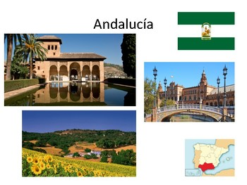 Spain and its regions (Comunidades Autónomas)