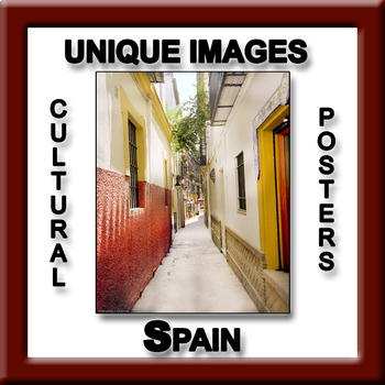 Spain in Photos Poster - Vertical