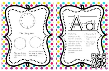 Spalding Alphabet Forming Card with QR Code