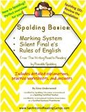Spalding Basics:  Markings, SFE, Rules