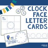 Spalding Clock Face Letter Cards
