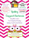 Spalding Copywork Sentences Section A-G