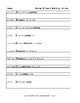 Spalding Copywork Sentences Section W