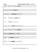 Spalding Copywork Sentences Section X