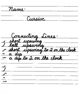 Spalding Cursive Worksheets