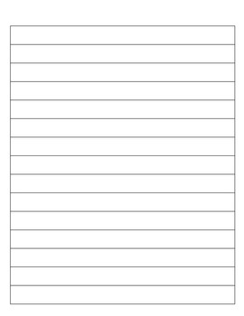 *FREE* Spalding Handwriting - Blank Sheet