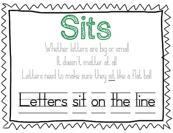 Handwriting Posters