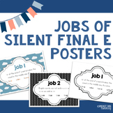Spelling Rules Posters : Jobs of Silent Final 'e'