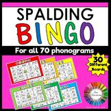Spalding Phonogram Bingo Game