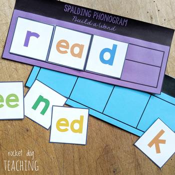 Spalding Phonogram Build a Word Activity