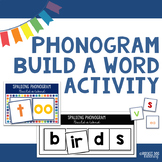 Spalding Phonogram Build a Word Activity