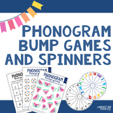 Spalding Phonogram Bump Games and Spinners